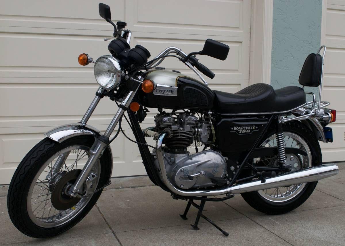 1979 Triumph Bonneville T140e For Sale Via Rocker Co Classic Motorcycles Brat Bike Triumph Motorcycles [ 857 x 1200 Pixel ]