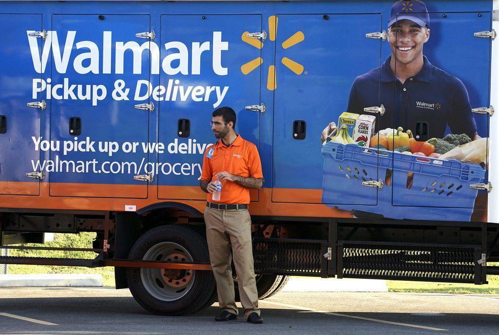 Walmart, Lagging in Online Sales, Is Strengthening E