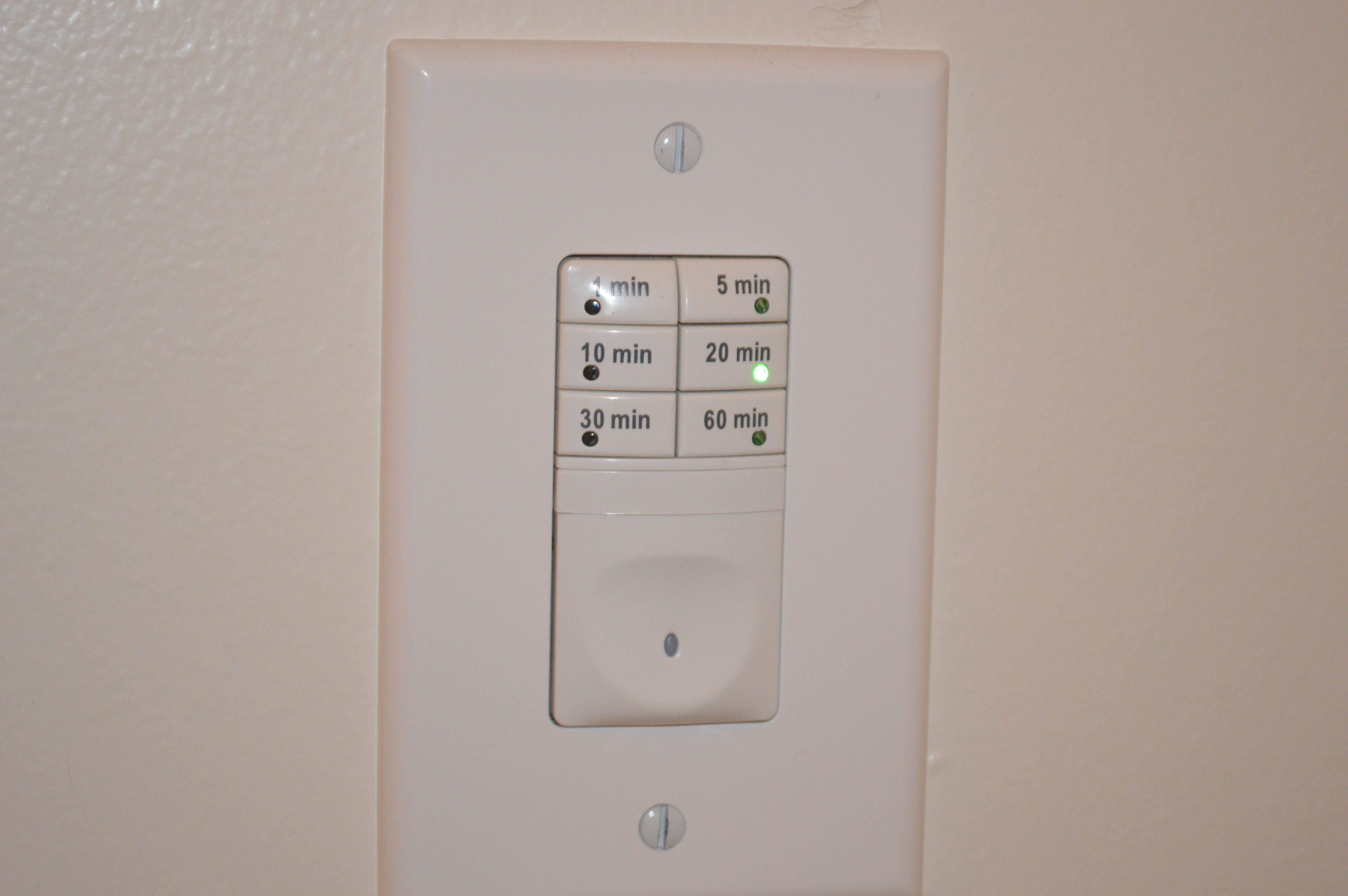 Timer Switch For Bathroom Fan And Light House Remodel