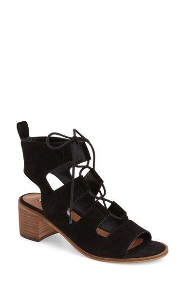 3010e6aa4fb5 Matiko Morgan Fringe Sandal In Taupe