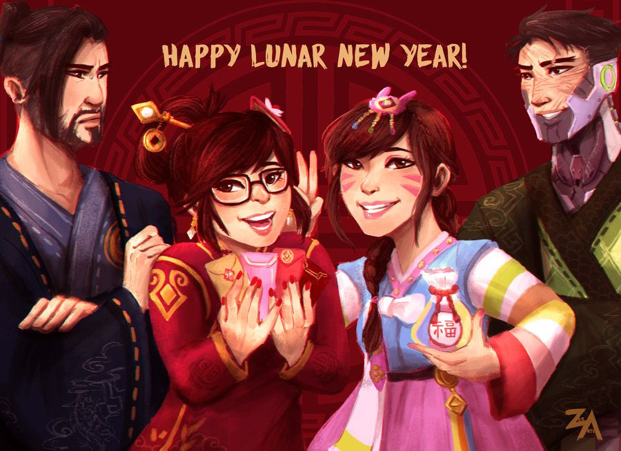 Happy Chinese New Year! by ZLynn Hanzo shimada, Shimada