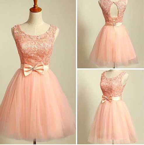 Lovely Blush Pink Short Ball Gwon T | Graduation, Homecoming and ...
