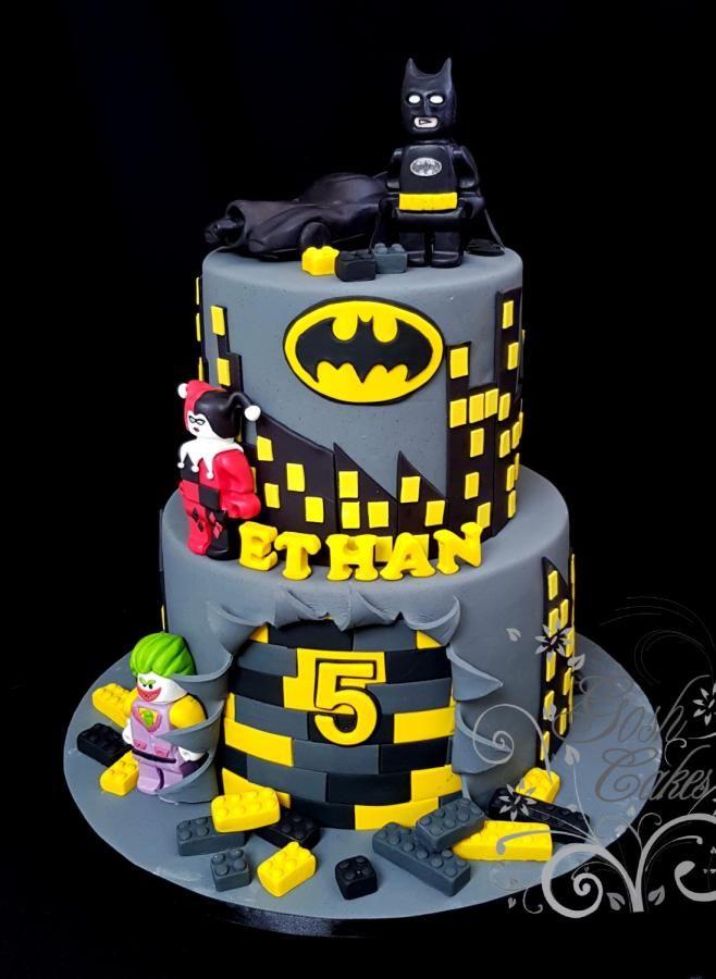 Batman Lego by GoshCakes Cakes Cake Decorating Daily