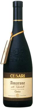 Cesari - Amarone della Valpolicella Classico DOC; 70% Corvina, 20% Molinara, 10% Rondinella; Type: Dry Still Red; Region: Veneto, Italy