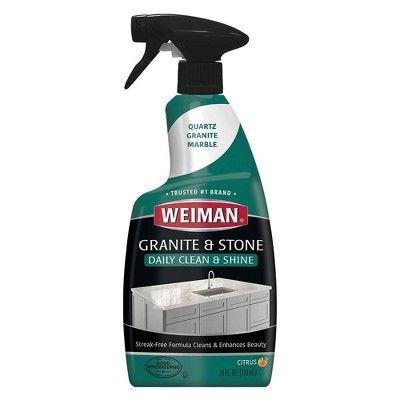 Weiman Granite Cleaner And Polish Spray 24oz In 2020 Granite