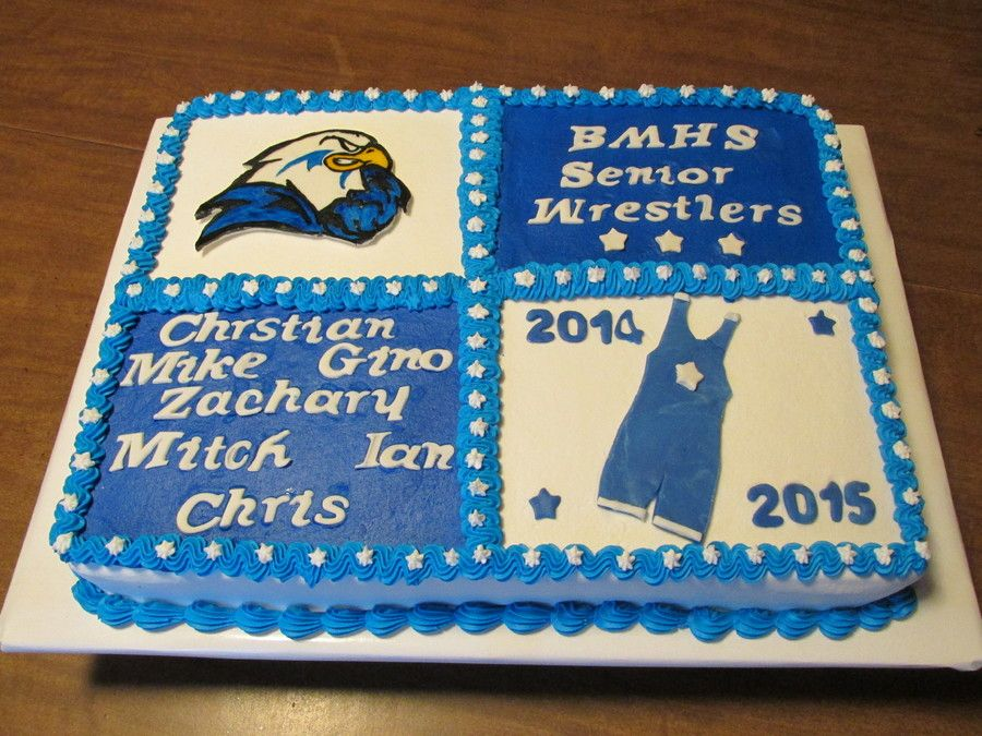 High School Wrestling Cake Wrestling Cake High School