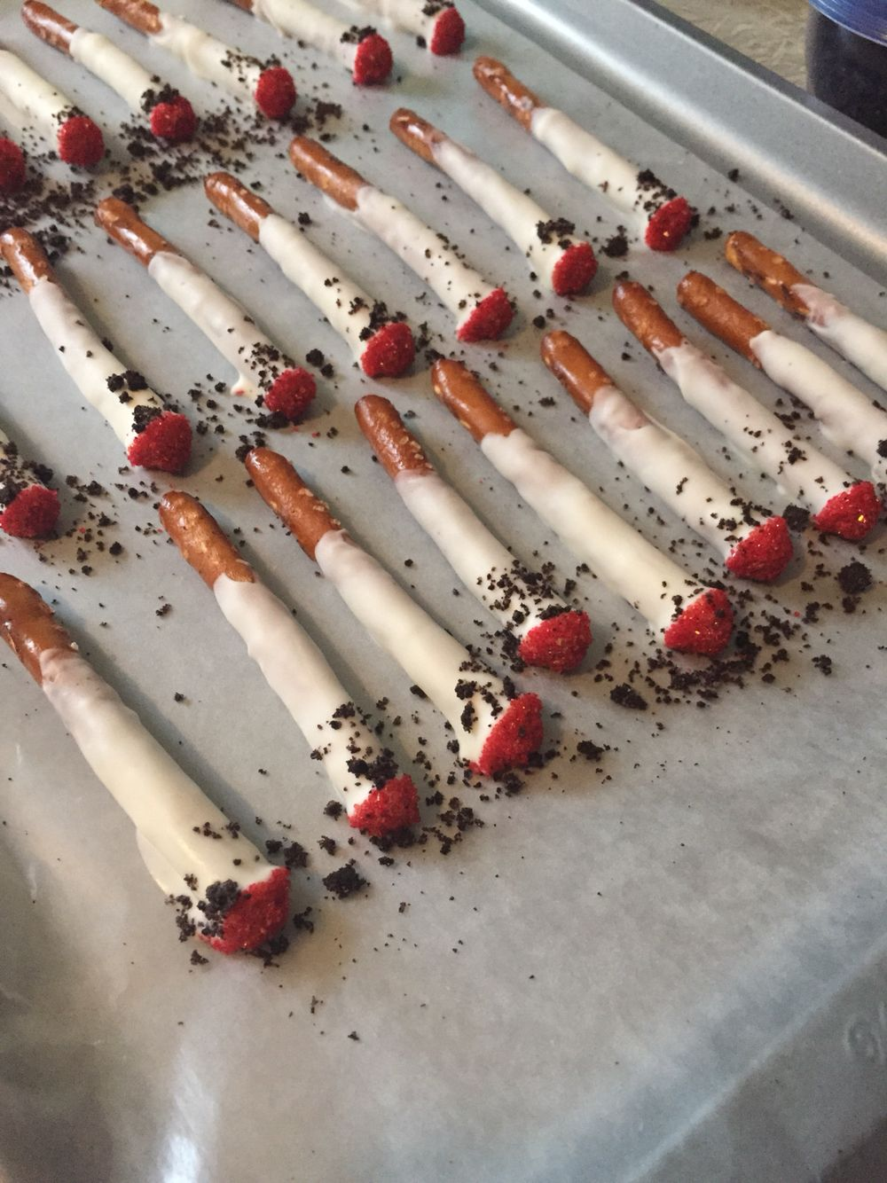 Cigarette pretzels for White Trash Bash   White Trash Bash   Pinterest