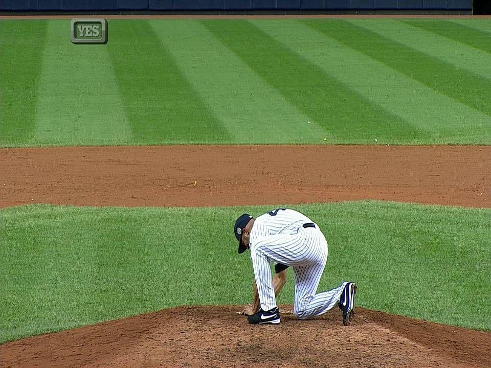 Mo thanks the fans Yankees, Baseball field, New york yankees