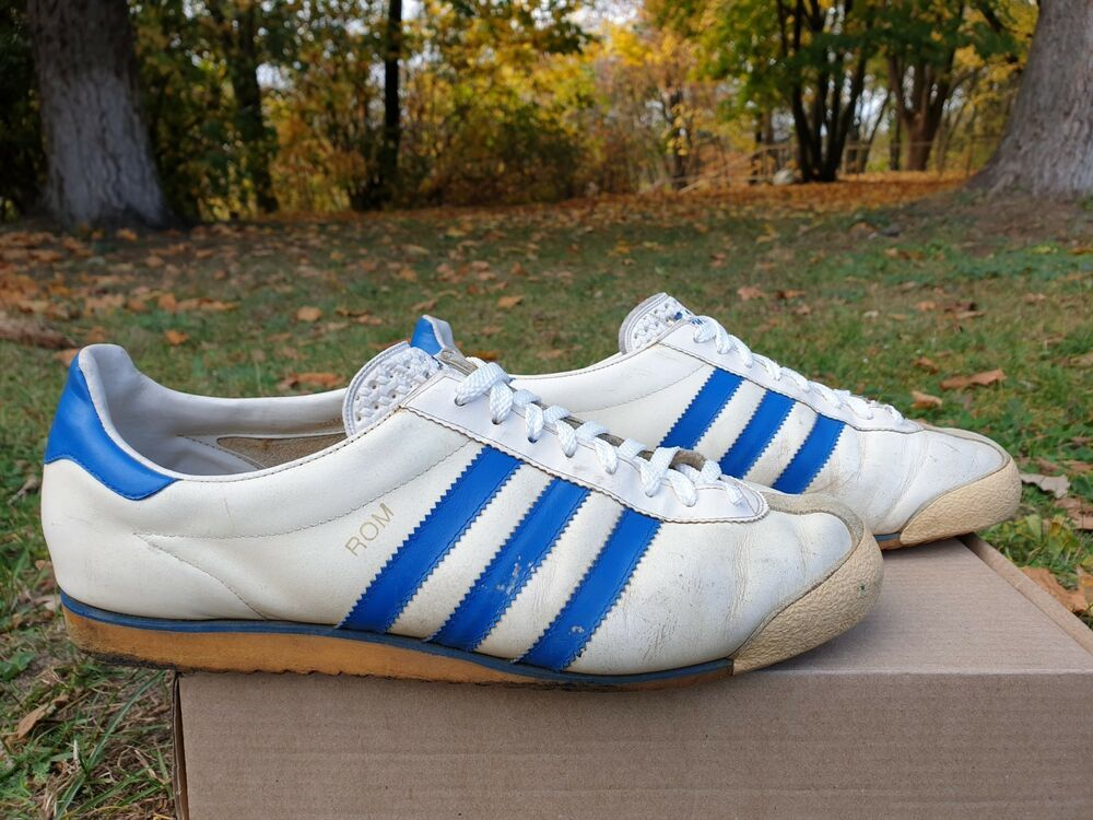 ADIDAS ROM VINTAGE 80er Sneaker Made in W.Germany Gr