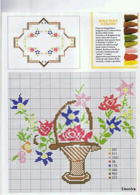 Punto de Cruz | Elia | Pinterest | Cross stitch borders, Cross ...