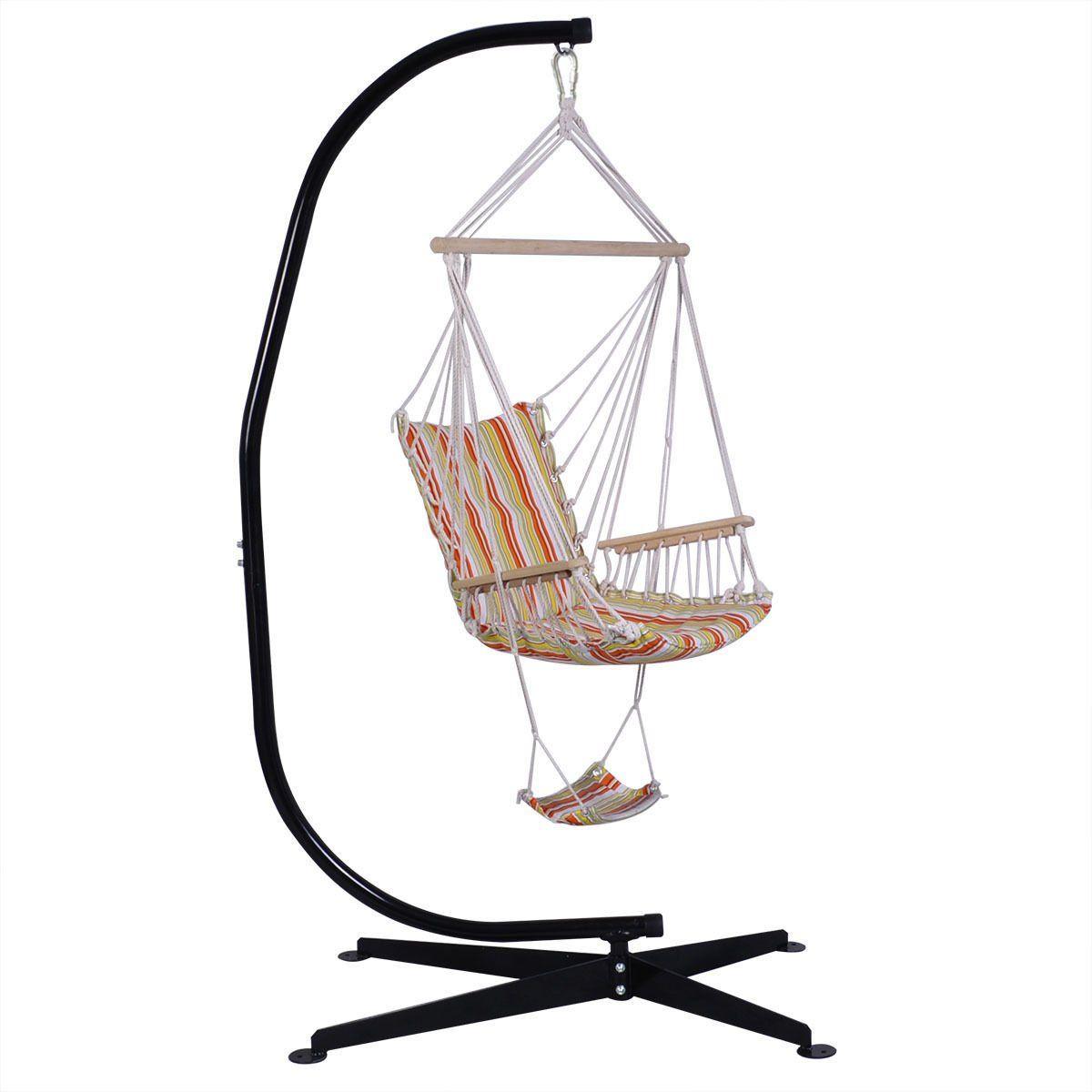 Teen girl bedrooms giantex c hammock frame stand solid steel