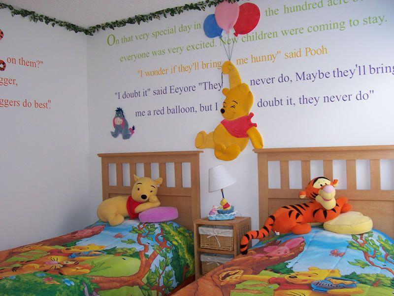 Wninnie The Pooh Bedroom Decoration Disney Rooms Kid Room Decor