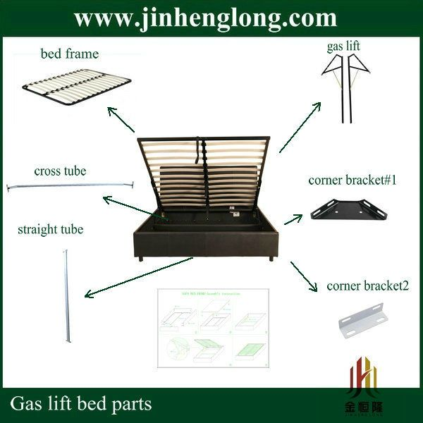 Bed Frame Parts >> Gas Lift Bed Parts 35 50 Lift Beds In 2019 Bed Parts Bed