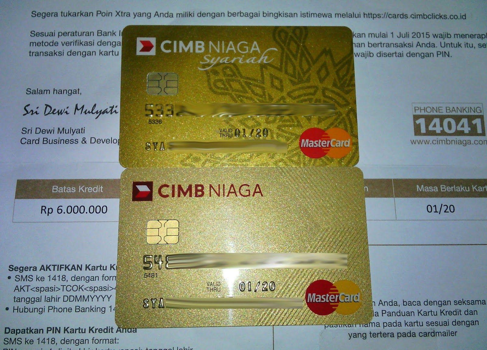 Cara Mudah Apply Kartu Kredit Cimb Niaga Online Kartu Kredit Uang Kartu