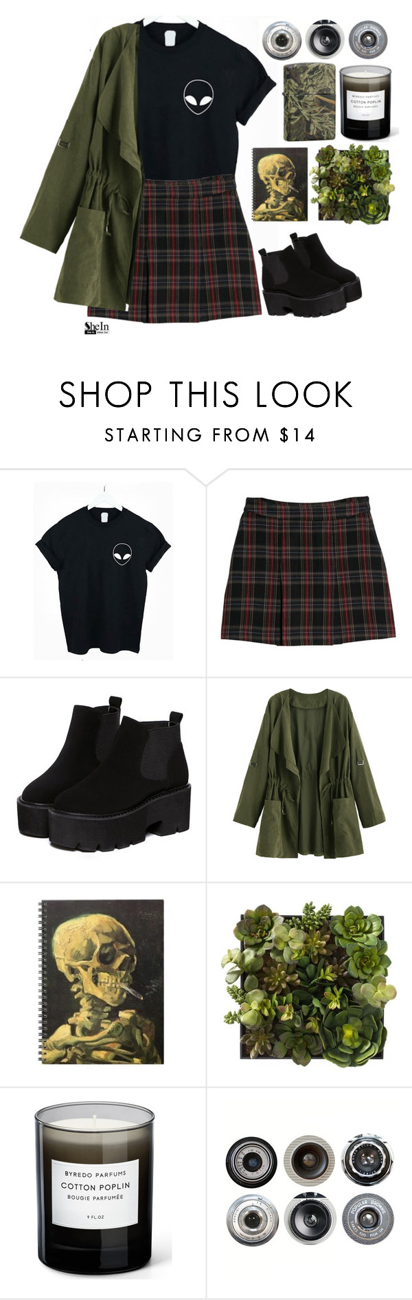 """""""#SheIn"""" by credentovideos ❤ liked on Polyvore featuring MANGO, Realtree, Byredo and Ella Doran"""