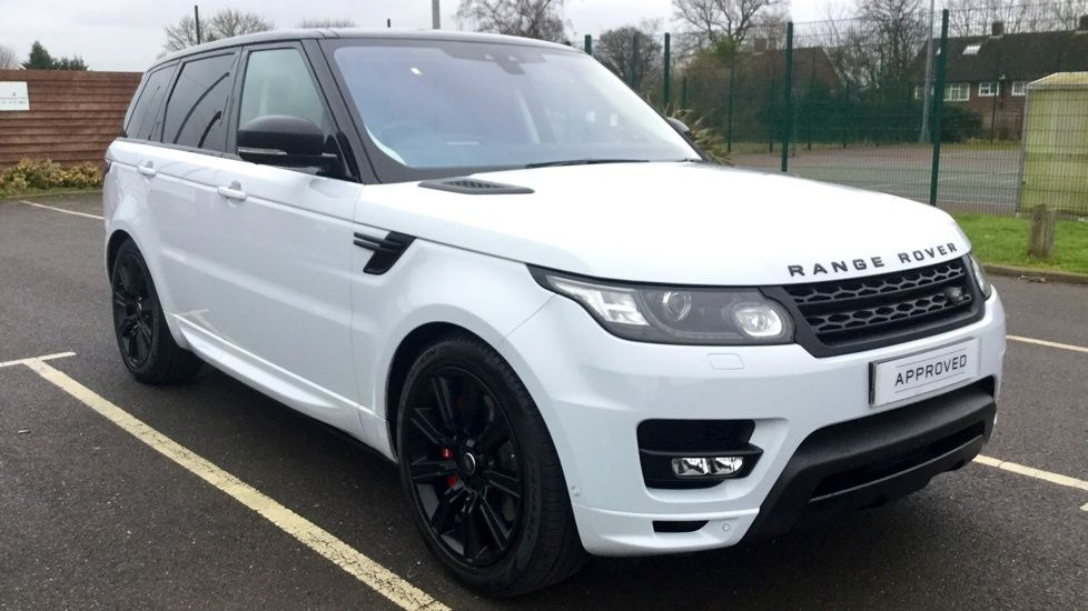 White Land Rover >> Land Rover Range Rover Sport 3 0 Sdv6 306 Autobiography Dyn 5dr 7