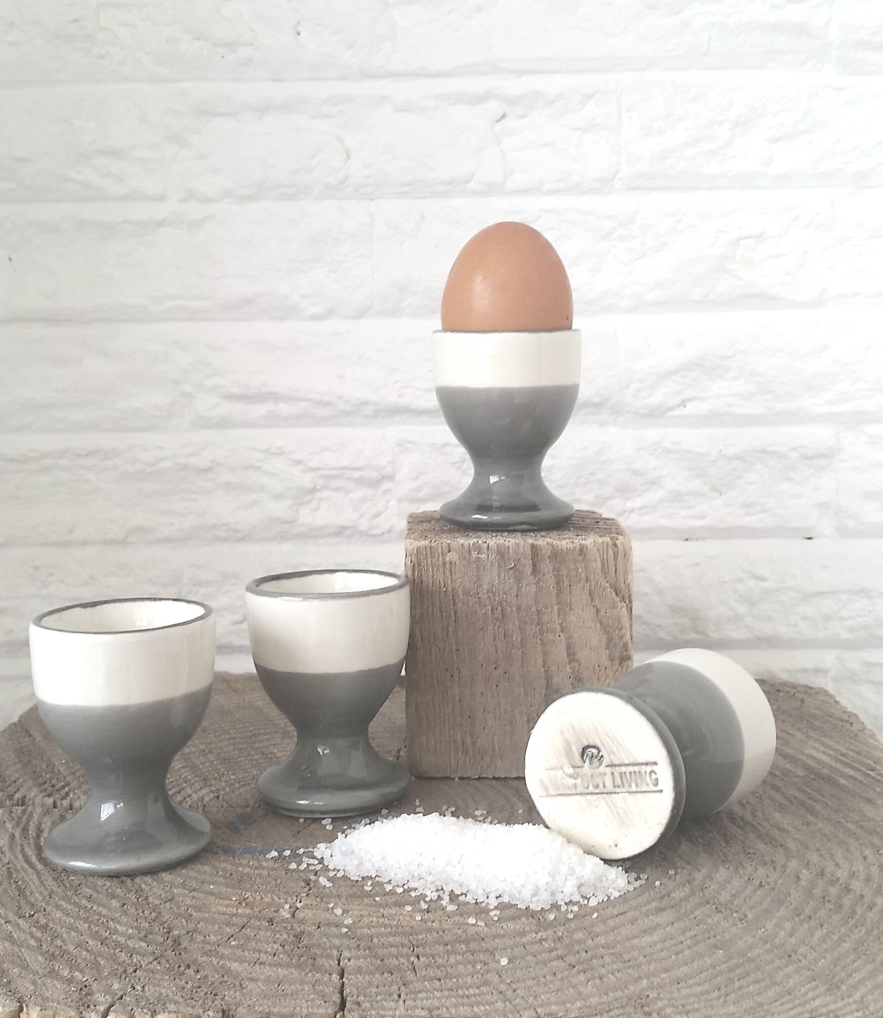 ceramics handmade eggs kitchen  Barefoot Living by Til Schweiger