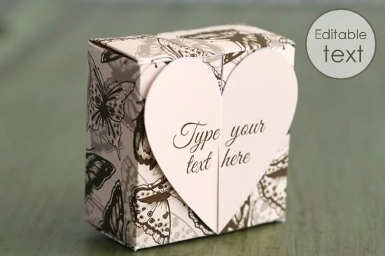 Free Gift Box Templates to Download, Print, \ Make DIY - Gift - gift box templates free download