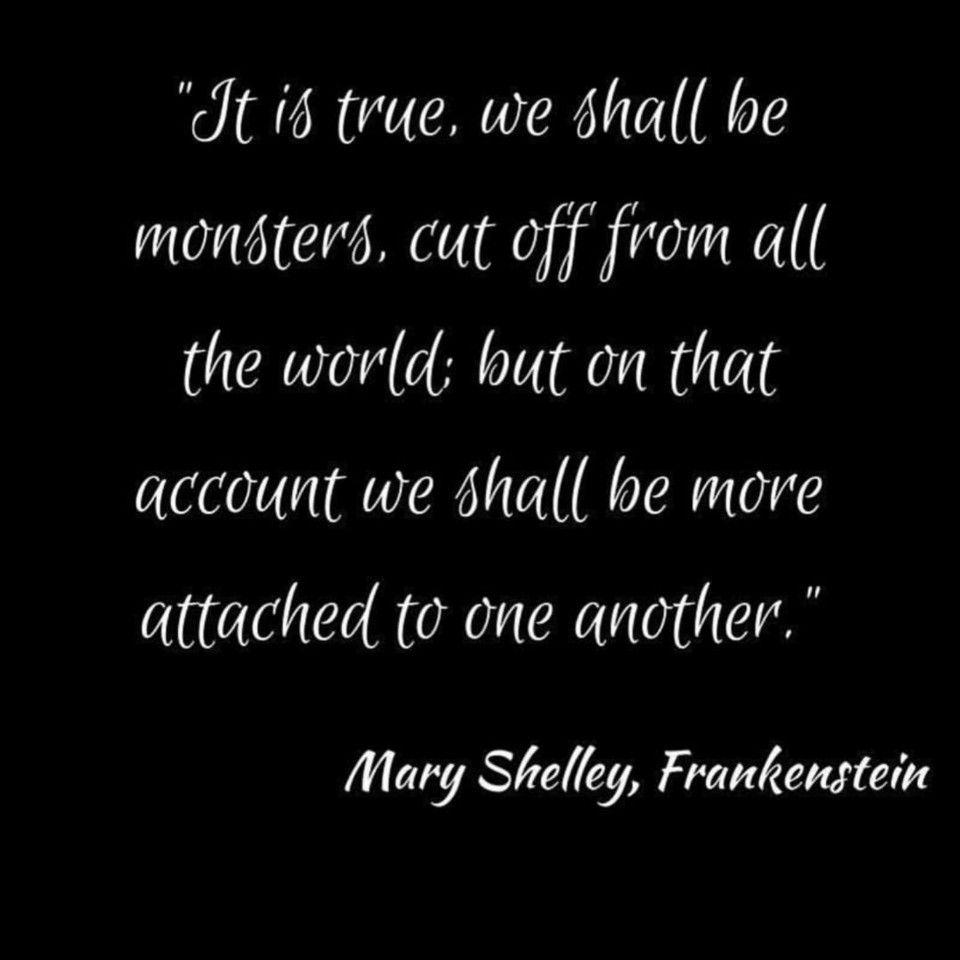 Frankenstein Creature Quotes: Mary Shelley, Author Of Frankenstein