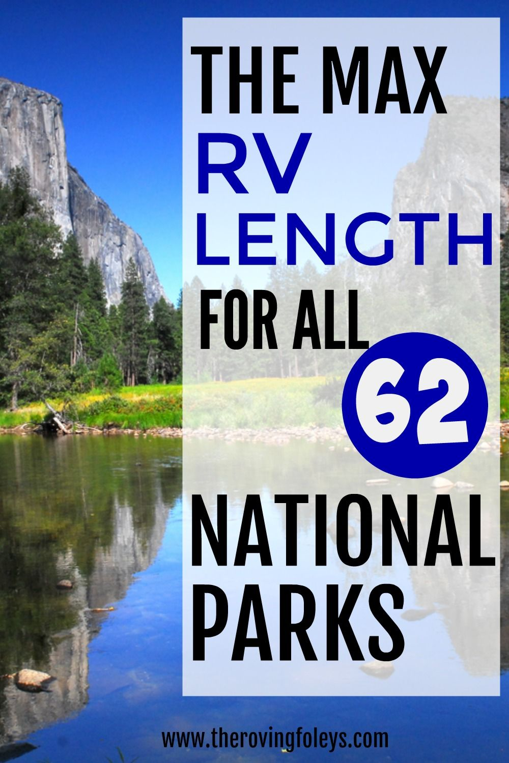 2020 Guide To National Parks RV Length (Every Campground)