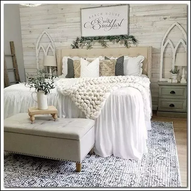 186 Best Guest Bedroom Ideas For You 4 Mantulgan Me Master Bedrooms Decor Farmhouse Bedroom Decor Home Decor Bedroom