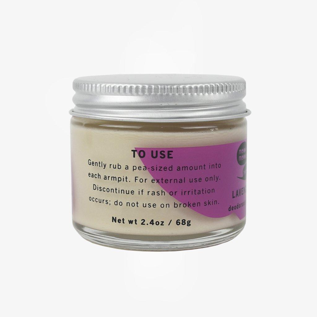 Deodorant Cream: Lavender | Deodorant, Cream, Smell good