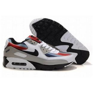 e549f3e6721c http   www.asneakers4u.com  309299 062 Nike Air Max 90 Grey Black Red D05079