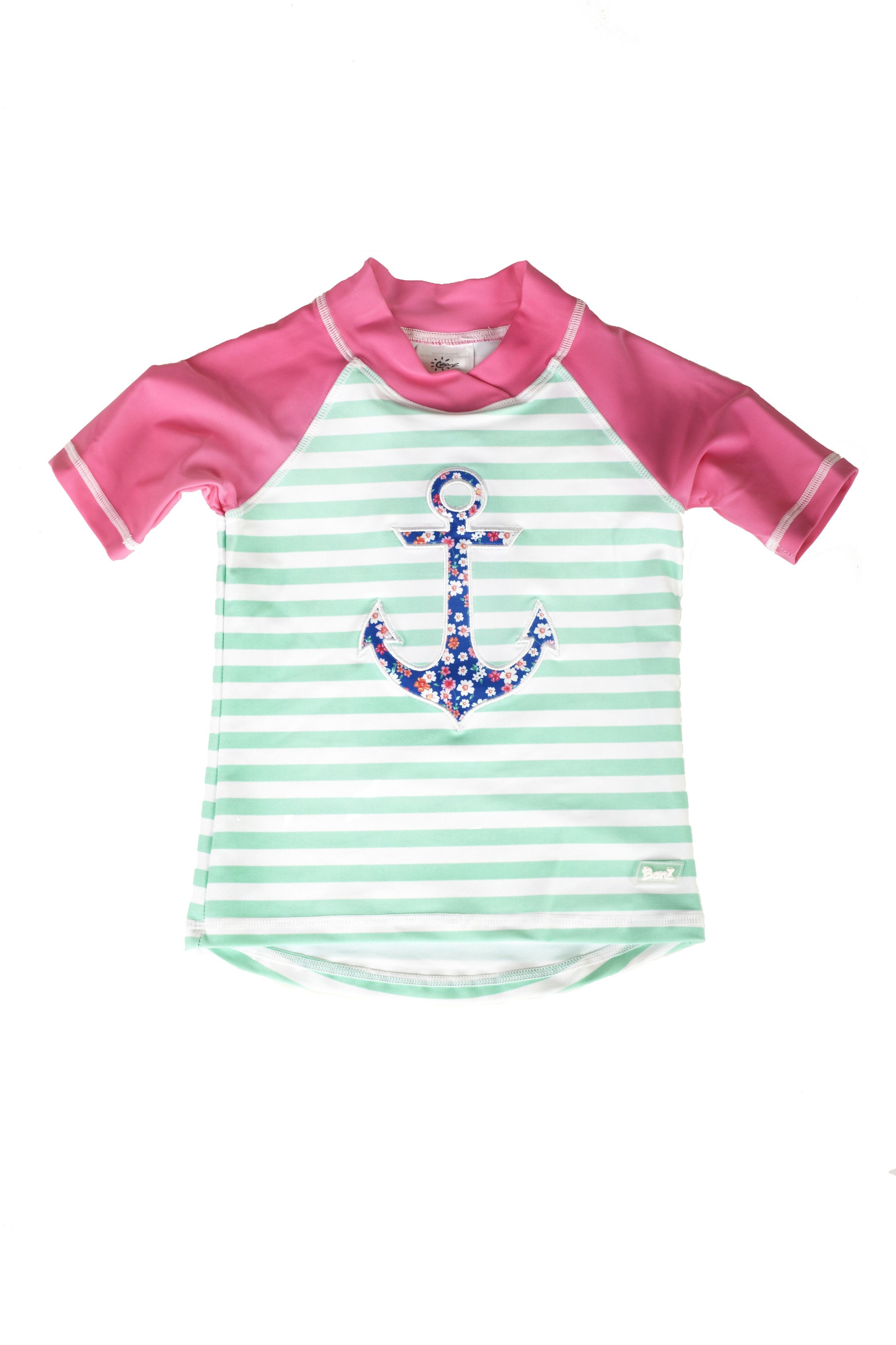 c19093e7d1 Banz Anchor Short Sleeve Rash Shirt Banz 2018 swimwear range for boys and  girls aged 3 months to 6 years. Designed in Australia and manufactured  using fast ...