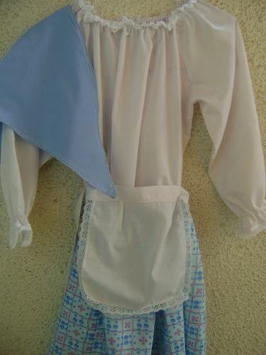 9b371be0c disfraz de lavandera - Buscar con Google   25 de Mayo   Disfraz de ...