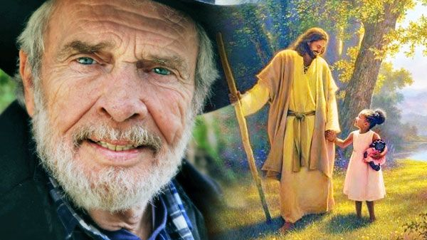 Merle Haggard He Walks With Me In The Garden Watch Country Music Lyric Quotes And Music