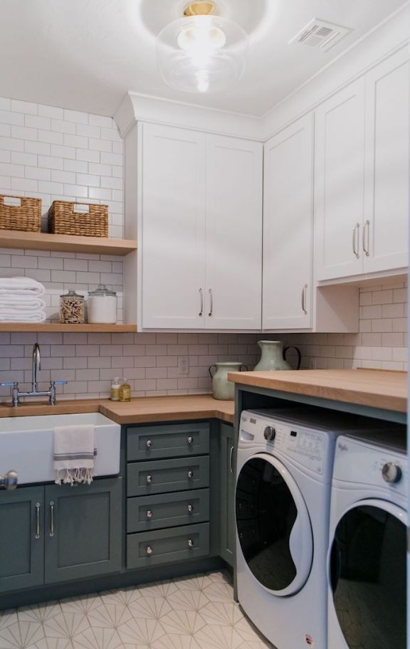 Brio Project Laundry Room Reveal + Design TipsBECKI OWENS images