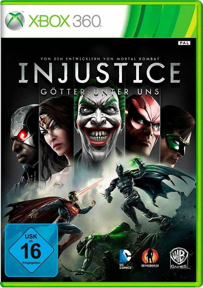 Injustice ,Spielmodusoffline,SprachausgabeDeutsch,WB