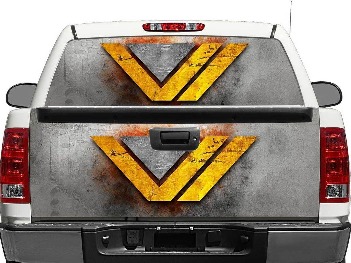 Wonder Women Ww Dc Comics Metal Texture Rear Window Or Tailgate Decal Sticker Pick Up Truck Suv Car Rear Window Rear Window Decals Metal Texture [ 900 x 1200 Pixel ]
