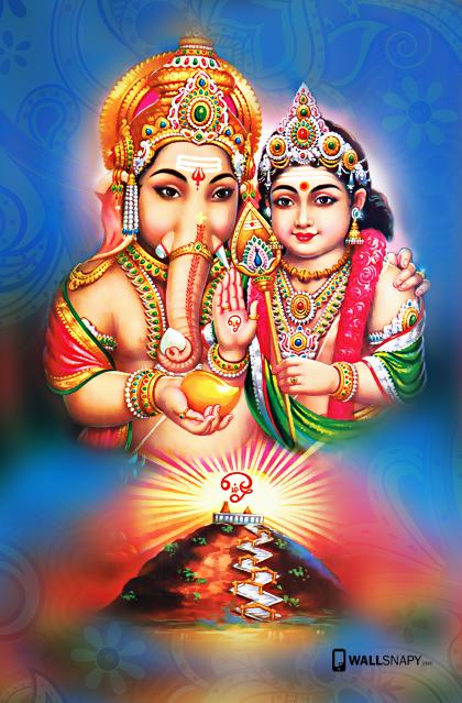 Murugan Vinayagar Full Hd Wallpaper 718606 Png 420 639 Ganesha Pictures Lord Murugan Wallpapers Lord Ganesha Paintings
