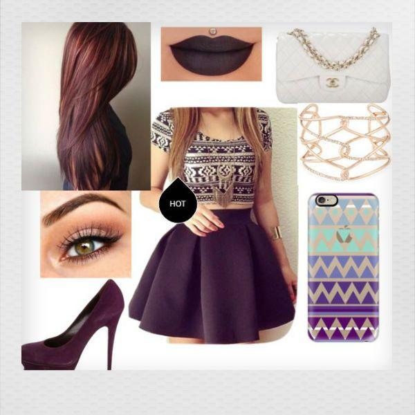 Con qué ropa usar lipstick morado | ActitudFEM