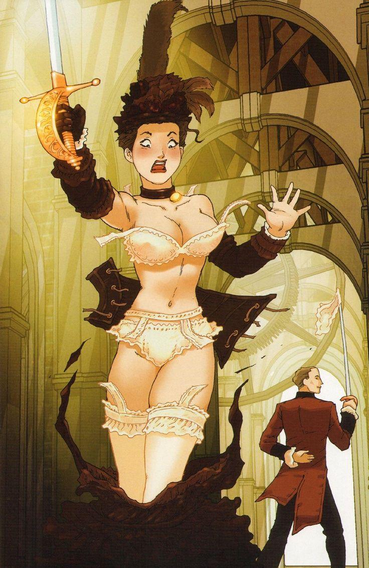 Steampunk anime porn