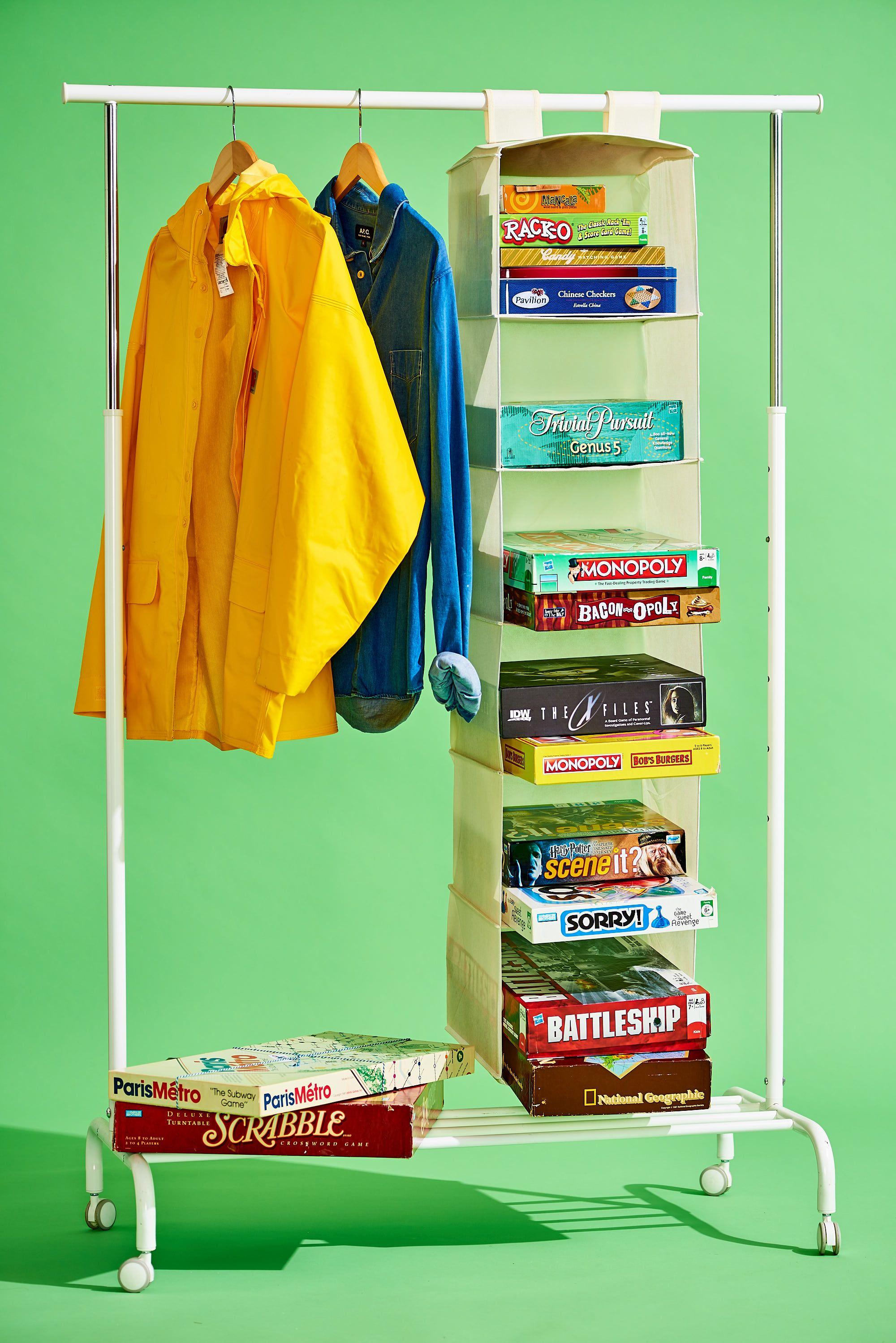 7 Smart Ways You Can Repurpose A Hanging Closet Organizer To Tidy Up Any Mess Hanging Closet Organizer Clever Storage Storage Hacks