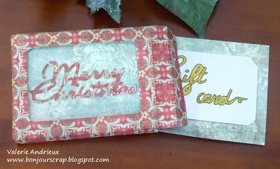 @OfficialCricut Box card holder wild Card cartridge #Recollections #CreateWithMichaels