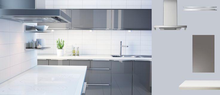 Ikea Kuche Weiss Hochglanz Mobel Pinterest Kitchen Ikea