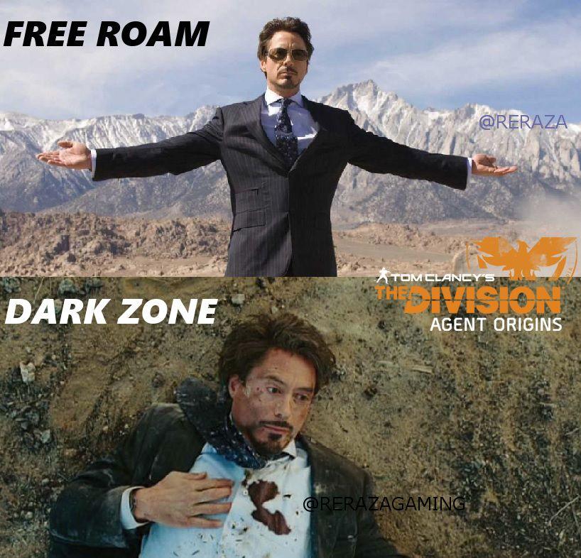 Original Meme Reraza The Division Free Roam Dark Zone Rekt