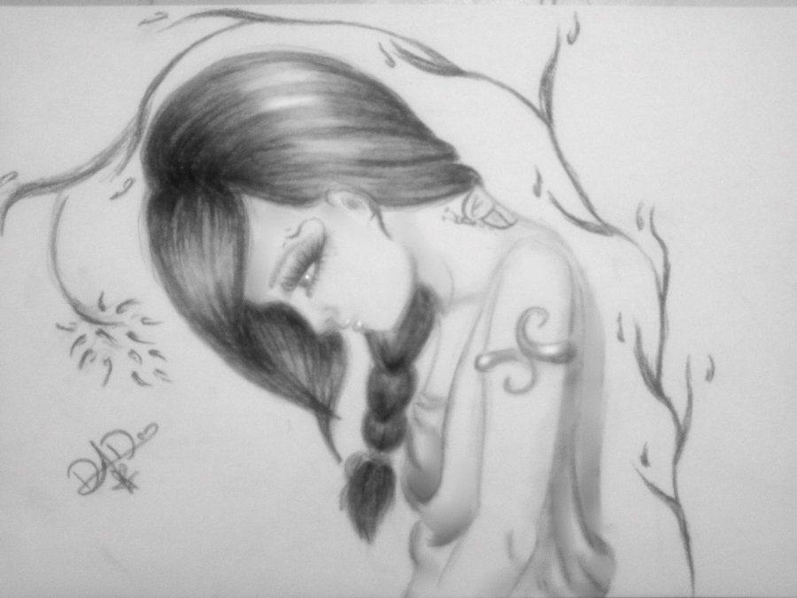 Drowing Sad Love Bangla: Sadness Pencil Drawing Images