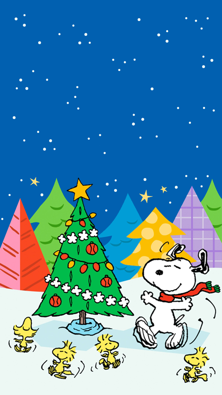 Pin By Chouj2 Lll On Snoopy Wallpaper Iphone Christmas Snoopy Wallpaper Cute Christmas Wallpaper