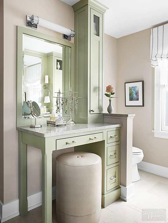 16 Beige Bathroom Ideas For A Relaxing Spa Worthy Escape Small Bathroom Vanities Master Bathroom Vanity Bathroom With Makeup Vanity