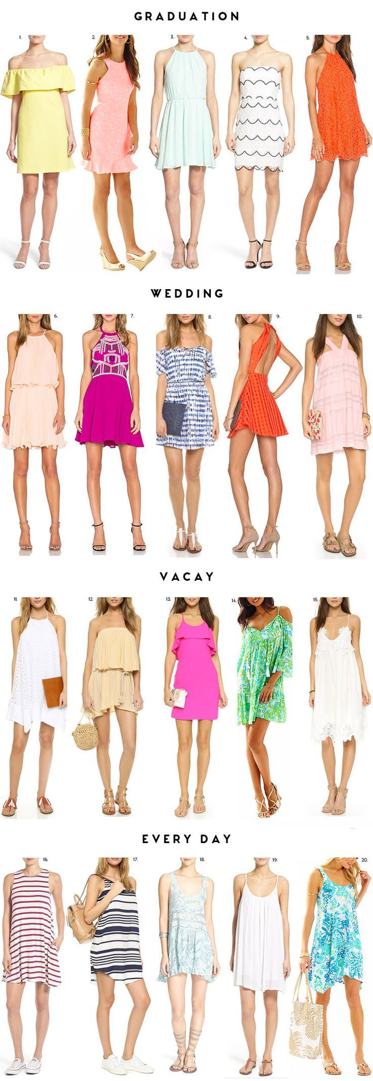 Spring Dress Guide Dresses Spring Dresses Fashion