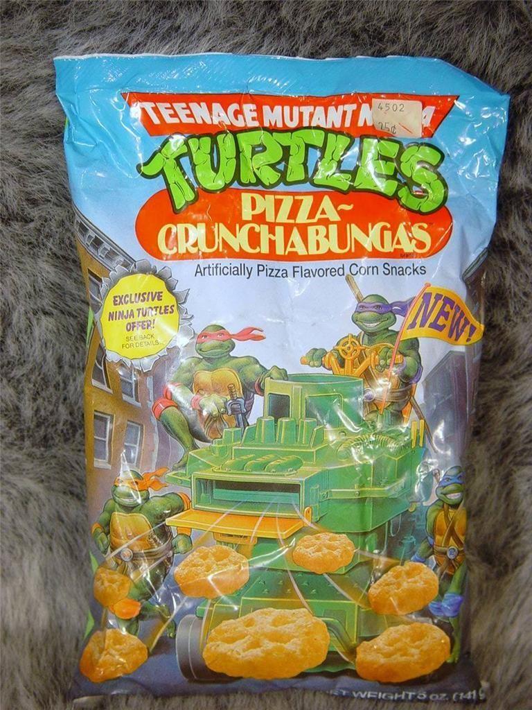 Rare Vintage Teenage Mutant Ninja Turtles Action Figure Toys Pizza Crunchabungas