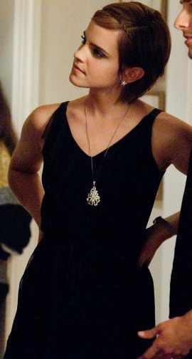 Sam The Perks Of Being A Wallflower Emma Watson Short Hair Emma Watson Sexiest Pixie Outfit