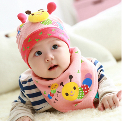 a078beb1c48 Click to Buy    Summer 6 - 12 months old baby hat baby spring and autumn caps  100% newborn cotton summer princess tire cap girl baby caps  Affiliate.