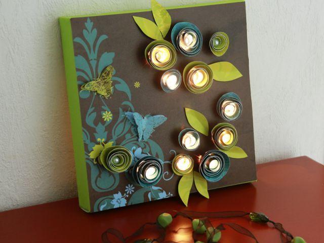 Fabriquez vos tableaux lumineux - Les ateliers de Mireia Idées Déco Fait  Main, Deco Fait e0728bdd6113