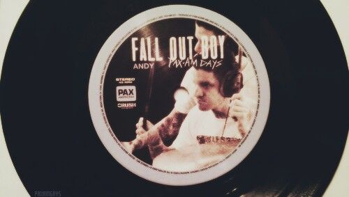 Fall Out Boy.  Pax-Am Days, Andy