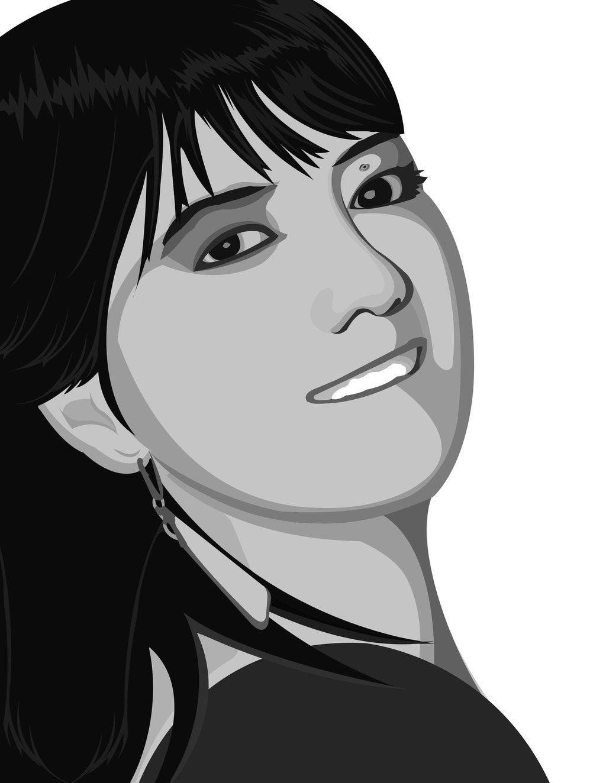 Donna vector work digital art vectorize pinterest digital art